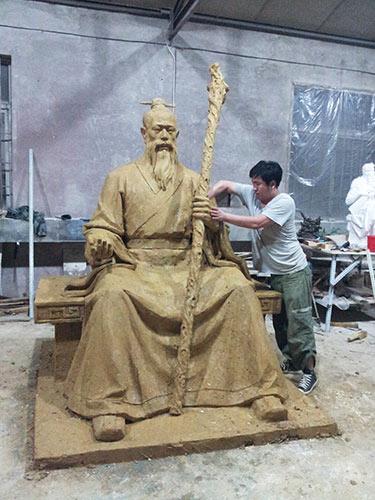 药王像_产品中心_沈阳德罗尼雕塑工程有限公司